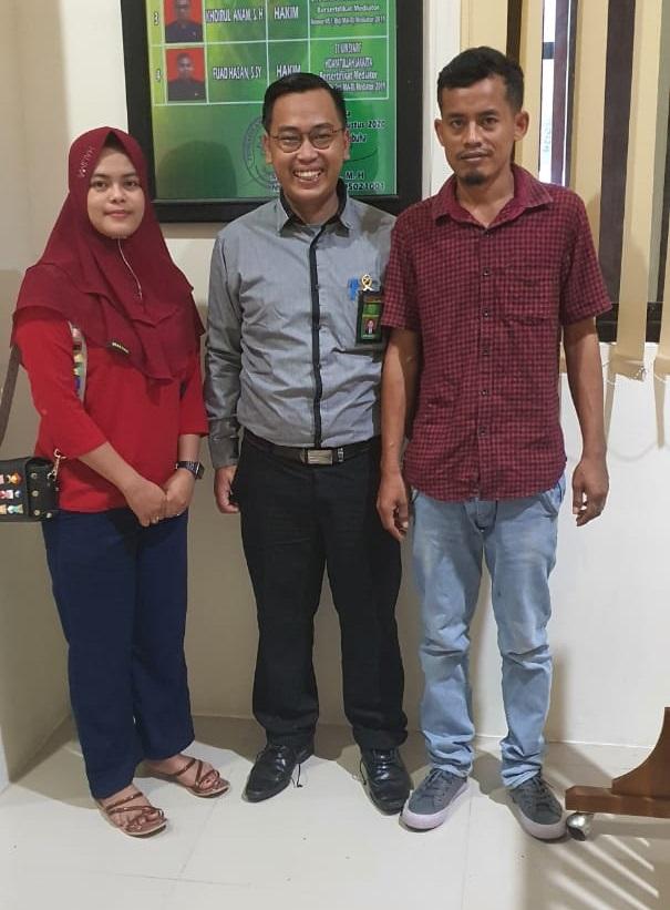 Hakim Pa Labuha Berhasil Mediasi 1 Perkara Cerai Dalam Sehari Pengadilan Agama Labuha